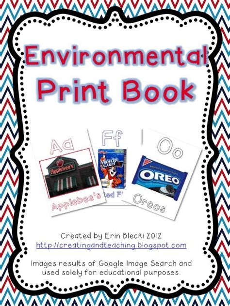 preschool activity books free download environmental print book free my tpt 171