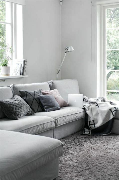 coussin canapé d angle le gros coussin pour canapé en 40 photos