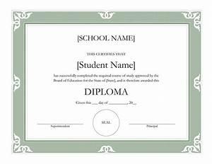 templates certificates fancy high school diploma With high school diploma certificate fancy design templates