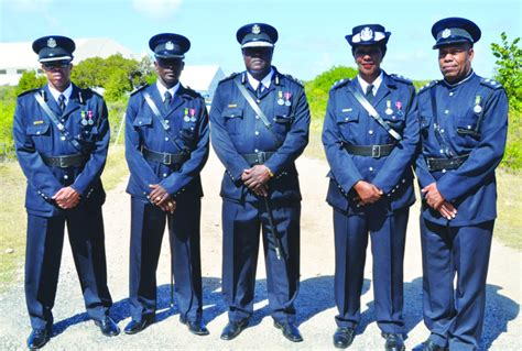anguilla police force   years  face  face