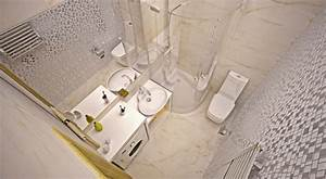 Aménager Une Petite Salle De Bain : amenager une petite salle de bains ~ Melissatoandfro.com Idées de Décoration
