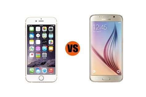 which is better iphone or samsung samsung galaxy s6 vs iphone 6 which is better for business