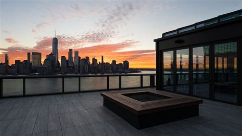 Hyatt House Jersey City opens with designs by Stonehill