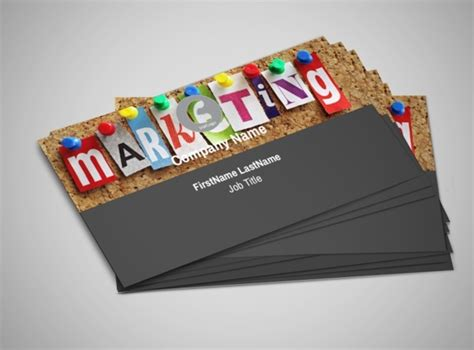 marketing business cards  psd ai eps vector examples