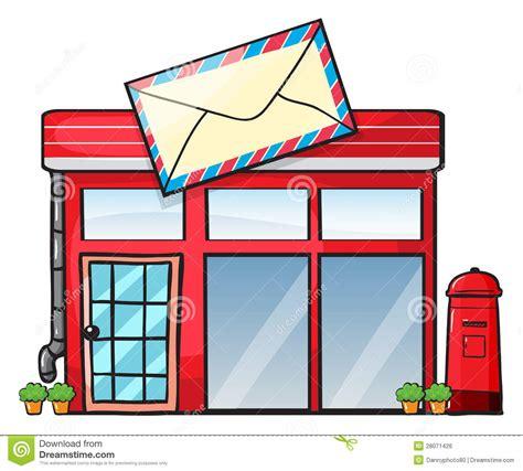 un bureau de poste un bureau de poste image libre de droits image 28071426
