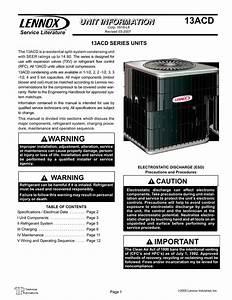 Lennox 13acd Dual Capacitor