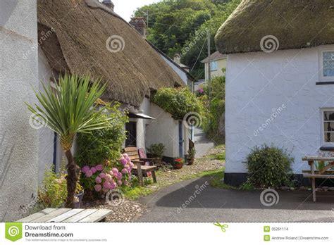 Seaside Cottages Devon Stock Images Image 35261114