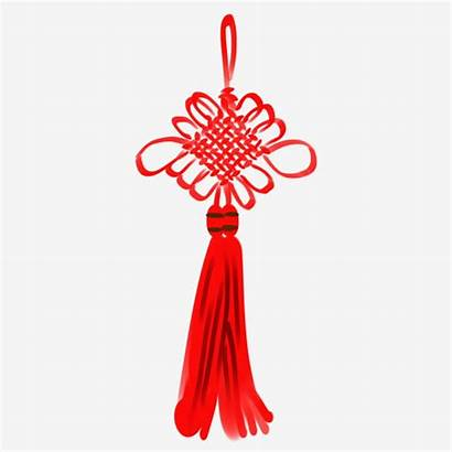 Knot Chinese Rope Ink Accessories Tassel Antique