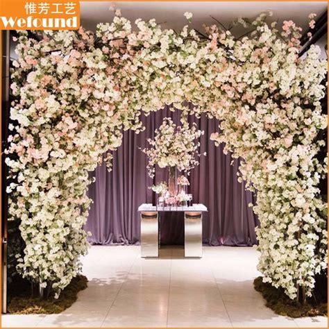 wefound wedding decoration artificial cherry blossom