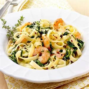 Garnelen Mit Nudeln : rezept f r garnelen spinat pasta kaufland ~ Orissabook.com Haus und Dekorationen