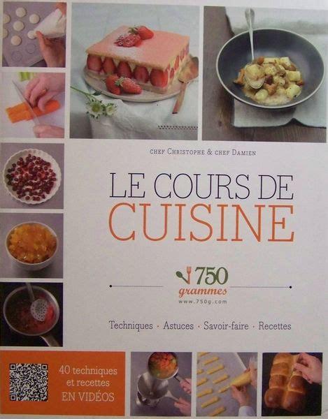 cours de cuisine pic 750 grammes le cours de cuisine livraddict