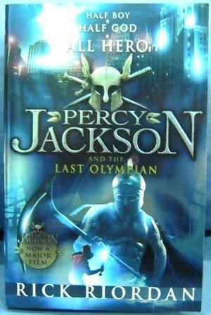 Percy Jackson & Olympians  The Last Olympian  My Books Blog