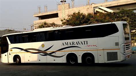 scania amaravathi bus   vijayawada apsrtc youtube