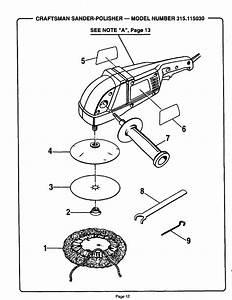 Craftsman 315115030 User Manual Sander  Polisher Manuals