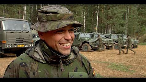На полигоне Meža Mackeviči встретились военные восьми ...