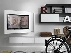 Meuble Salon Moderne : meuble d 39 angle tv de style contemporain et moderne ~ Premium-room.com Idées de Décoration