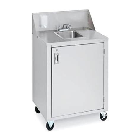 used portable 4 compartment sink crown verity cvphs 4 portable 1 compartment space