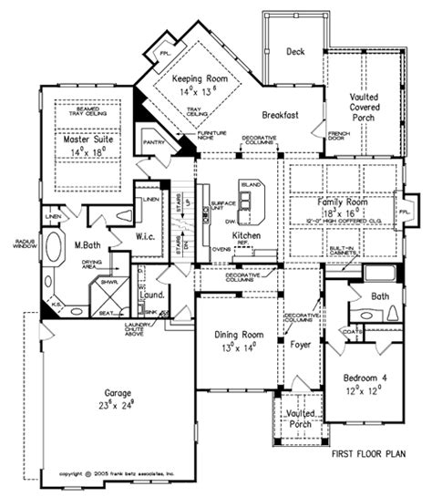 Frank Betz Summerlake Floor Plan by Tillman Home Plans And House Plans By Frank Betz Associates