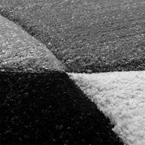 Läufer Schwarz Weiß : l ufer set geometrisch schwarz wei design teppiche ~ Orissabook.com Haus und Dekorationen