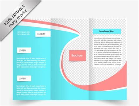 photoshop tri fold brochure template   brochure