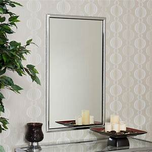 Chrome, Rectangle, Wall, Mirror, -, 22w, X, 36h, In