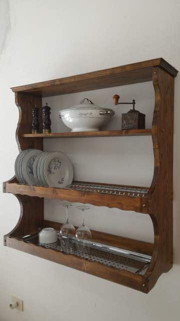mensole antiche piattaia credenza pensile mensola scolapiatti casa