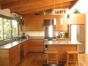 Bamboo IKEA Kitchen - Contemporary - Kitchen - san