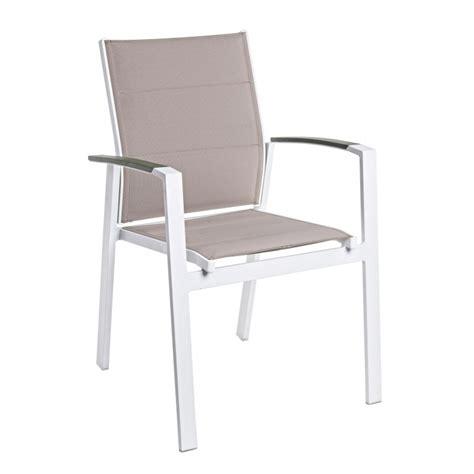 sedia giardino sedia da giardino kubik alluminio e textilene di bizzotto