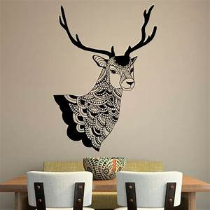 Deer wall decal country decals vinyl stickers tribal