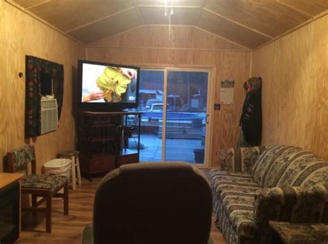 converting a shed into a cabin 384 sq ft shed converted into tiny home for 11k