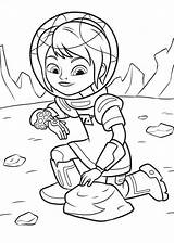 Miles Tomorrowland Fun Coloring sketch template