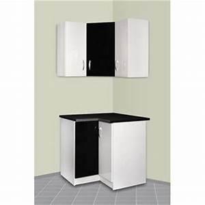 Meuble D Angle Haut Cuisine : meubles angle cuisine achat vente meubles angle cuisine pas cher cdiscount ~ Teatrodelosmanantiales.com Idées de Décoration