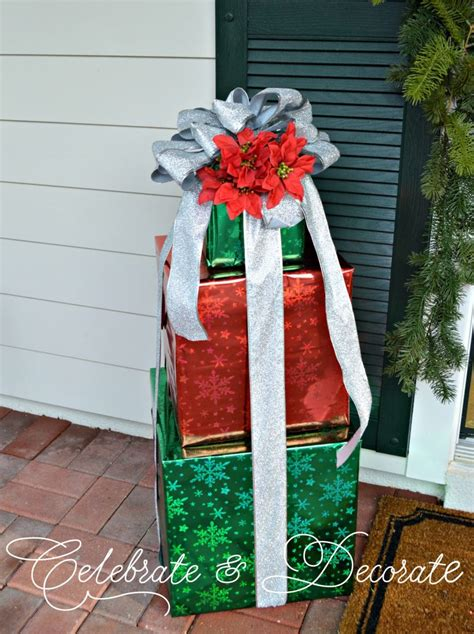diy christmas decorations  boxes celebrate decorate