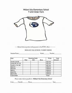 School t shirt order form template clothes pinterest for School t shirt order form template