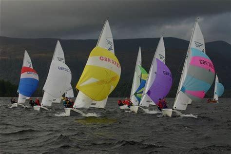 Flying Boat Loch Lomond by Flying Fifteen Open At Loch Lomond Sailing Club