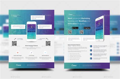 mobile app promotion flyer templates  rtralrayhan