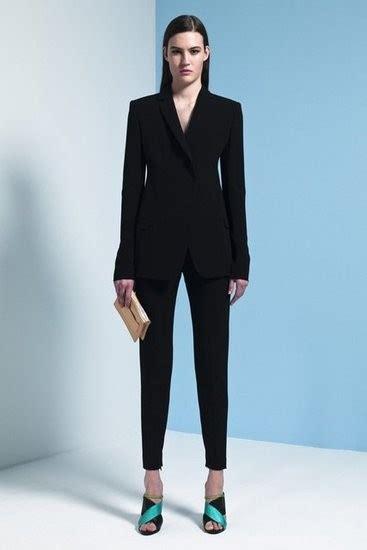 trajes negros  dama