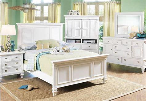 shop   belmar white panel  pc kg bedroom  rooms