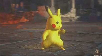 Cool Pokemon Fighting Animation Learned Ve Match