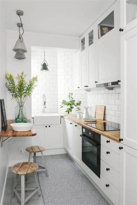 small house kitchen interior design 9 smart ways to make the most of a small galley kitchen 8026