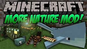 More Nature Mod for Minecraft 1.8/1.7.10 | MinecraftOre