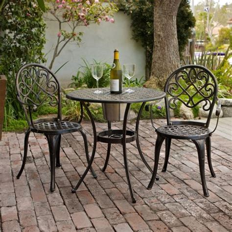 outdoor table ls for porches camden 3 piece patio bistro set welcome to costco