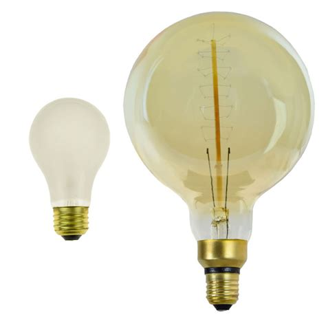 40w large antique edison light bulb