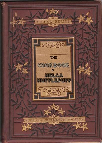 Library Hogwarts Covers Cookbook Ancient Hufflepuff Helga
