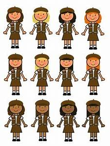Brownie Girl Scout Clip Art by Girl Scout Store | TpT