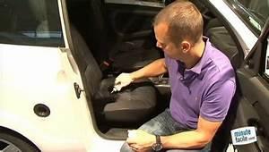 Réparation du siège troué d'une voiture - Minutefacile com