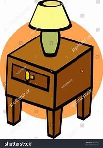 Nightstand Lamp Stock Vector 9420289 - Shutterstock