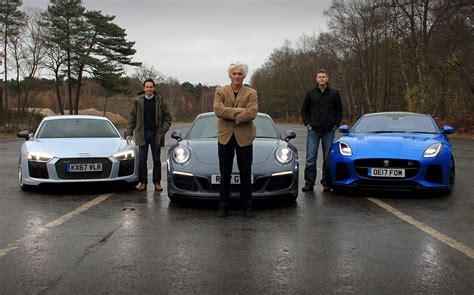 Super Investments? Audi R8 V10 Vs Jaguar Ftype Svr Vs