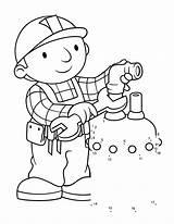 Builder Bob Coloring Printable Fix Sheets Tap Boy Building Bestcoloringpagesforkids Coloringkidz sketch template