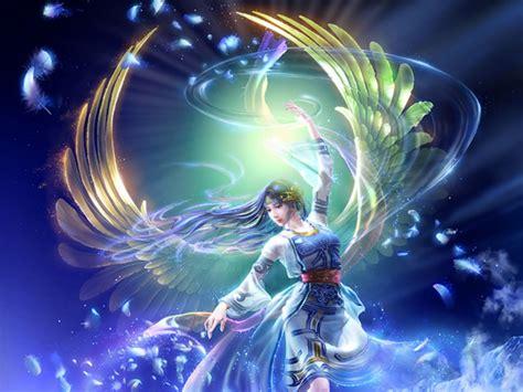 fantasy angel  light desktop background wallpaperscom
